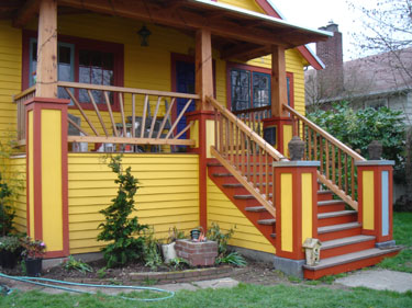 Neighbor\'s house - original colors